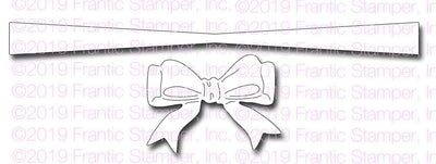 Frantic Stamper - Dies - Cinched Ribbon Bow