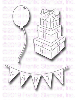 Frantic Stamper - Dies - Birthday Party