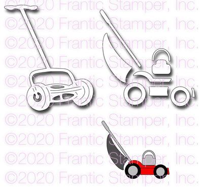 Frantic Stamper - Dies - Push Mowers