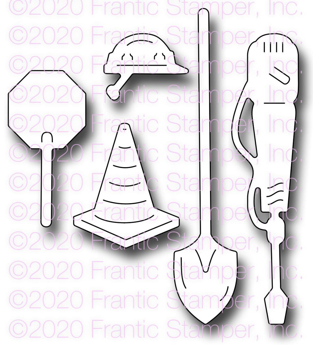 Frantic Stamper - Dies - Construction Accessories