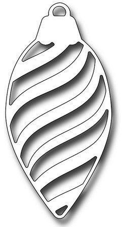 Frantic Stamper - Dies - Striped Pinecone Ornament