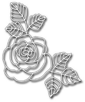 Jumbo Beautiful Rose die - Frantic Stamper