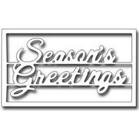 Frantic Stamper - Dies - Season's Greetings Block