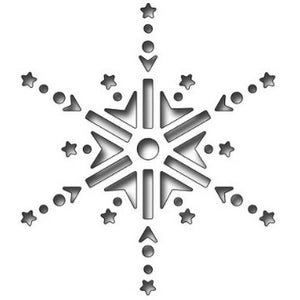Frantic Stamper - Dies - Reverse Cut Jeweled Snowflake