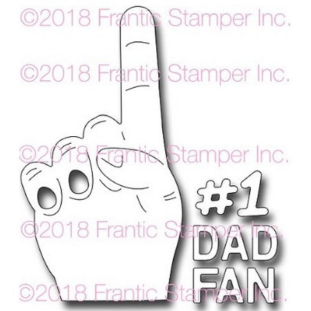 Frantic Stamper - Dies - You're Number One