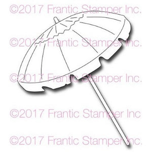 Frantic Stamper Precision Die - Large Beach Umbrella