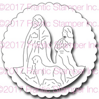 Frantic Stamper Precision Die - Framed Shepherds