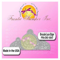 Frantic Stamper Precision Die - Brocade Lace Edger