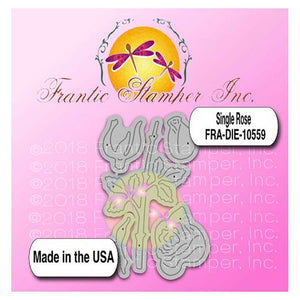 Frantic Stamper Precision Die - Single Rose