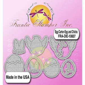 Frantic Stamper - Dies - Egg Carton Eggs & Chicks