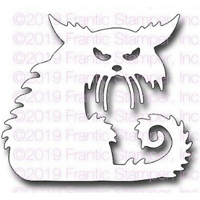 Frantic Stamper - Dies - Creepy Cat
