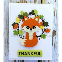 Frantic Stamper - Dies - Fall Icon Wreath