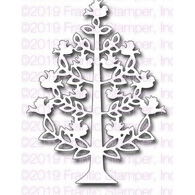 Frantic Stamper - Dies - Folk Art Christmas Tree