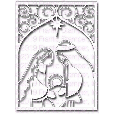 Frantic Stamper - Dies - Nativity Card Panel