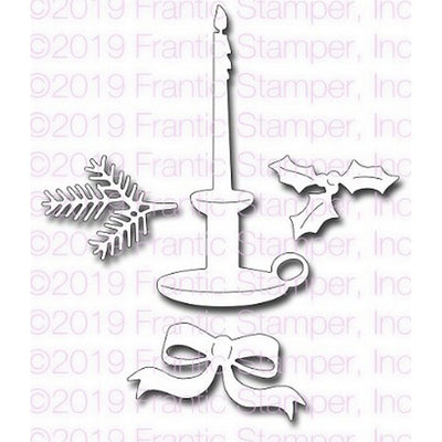 Frantic Stamper - Dies - Tapered Candle