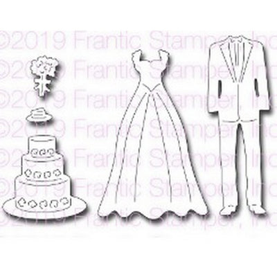 Frantic Stamper - Dies - Wedding Attire