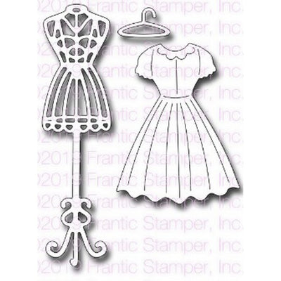 Frantic Stamper - Dies - Large Dress Form
