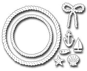Frantic Stamper - Dies - Rope Wreath