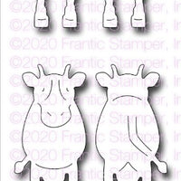 Frantic Stamper - Dies - Front & Back Farm Animals