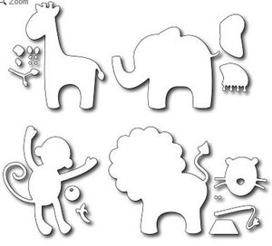 Frantic Stamper - Dies - Baby Animals