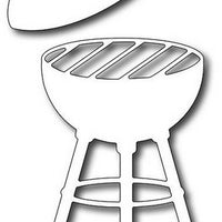 Frantic Stamper - Dies - Barbecue Grill