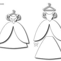 Frantic Stamper - Dies - Princess Dress