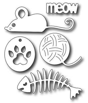 Frantic Stamper - Dies - Cat Icons