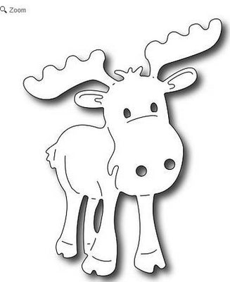 Frantic Stamper - Dies - Adorable Moose