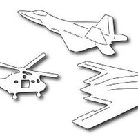 Frantic Stamper - Dies - Modern Military Aircraft Icons
