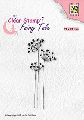 Nellie's Choice - Clear Stamp - Fairy Tale Umbellifers