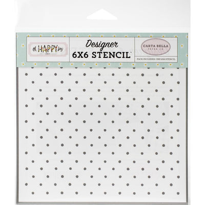 Carta Bella - Stencil - So Happy Dot