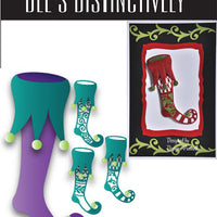 Dee's Distinctively Dies - Stocking Silhouettes