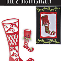 Dee's Distinctively Dies - Stocking Overlay 1