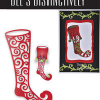 Dee's Distinctively Dies - Stocking Overlay 2