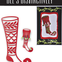 Dee's Distinctively Dies - Stocking Overlay 3