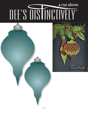 Dee's Distinctively Dies - Ornament Set 2