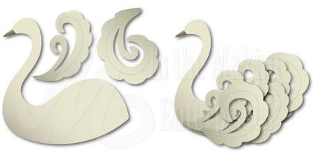Dee's Distinctively Dies - Gloria's Swan (left)