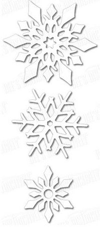 Dee's Distinctively Dies - Snowflake Set 2