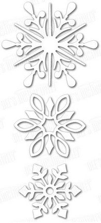Dee's Distinctively Dies - Snowflake Set 3