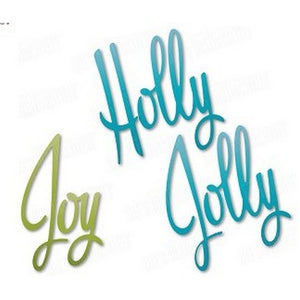 Dee's Distinctively Dies - Holly Jolly Joy