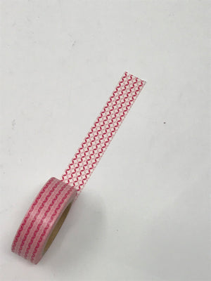 Washi Tape - Red Streamers