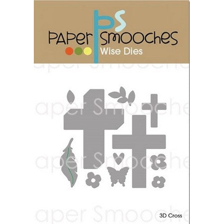 Paper Smooches - Dies - 3D Cross