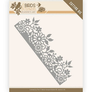 Jeanine's Art - Dies - Birds & Flowers - Daisy Border