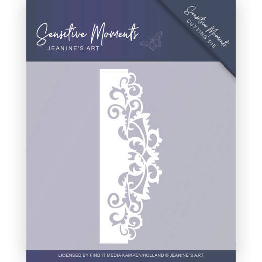 Jeanine's Art - Dies - Sensitive Moments - Swirl Border