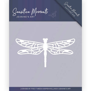 Jeanine's Art - Dies - Sensitive Moments - Dragonfly