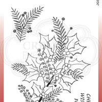 Woodware Craft Collection - Clear Stamps - Sketchy Sprigs