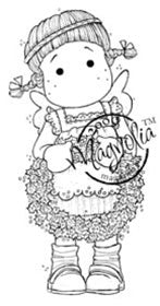 Magnolia Stamps - So Jolly Collection - Tilda With Jolly Wreath #334