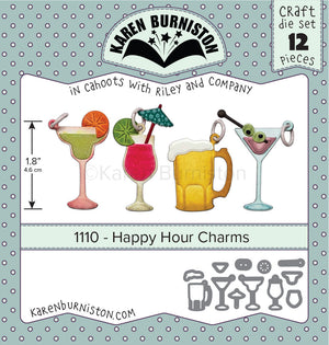 Karen Burniston - Dies - Happy Hour Charms