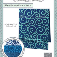 Karen Burniston - Dies - Pattern Plate - Swirls