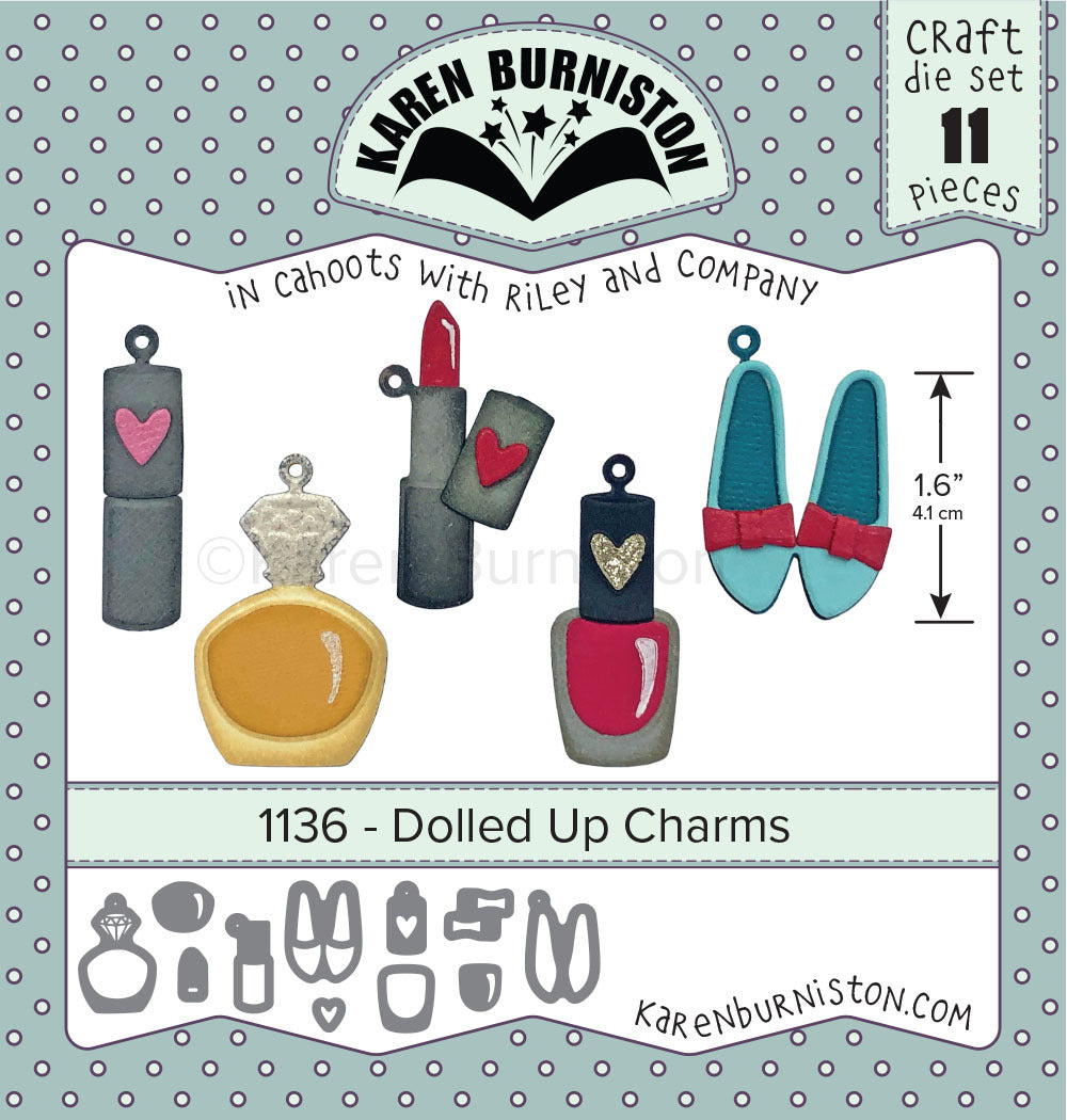 Karen Burniston - Dies - Dolled Up Charms